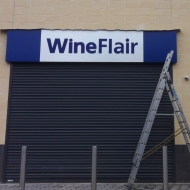 WineFlair fascia installation