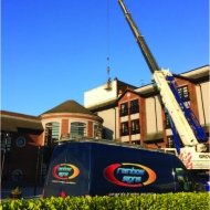 fascia sign installation