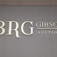 BRG raised lettering