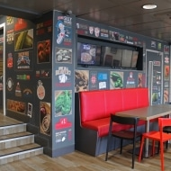 dominos wall graphics