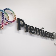 premier people internal wall sign