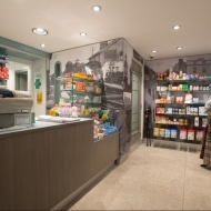 McAleers Pharmacy vinyl wall graphics