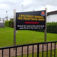 J Kyle Paisley Memorial Free Presbyterian Church