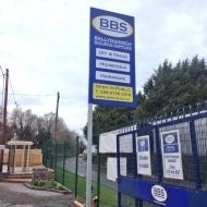 BBS roadside gantry