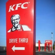kfc drive thru totem