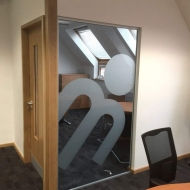 sugarman frosted window graphics